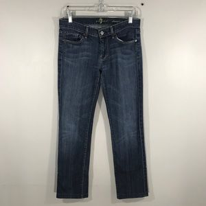 7 FOR ALL MANKIND JEANS STRAIGHT LEG SIZE 27